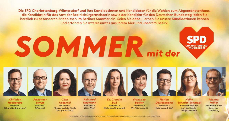 Sommer mit der SPD Charlottenburg-Wilmersdorf 1
