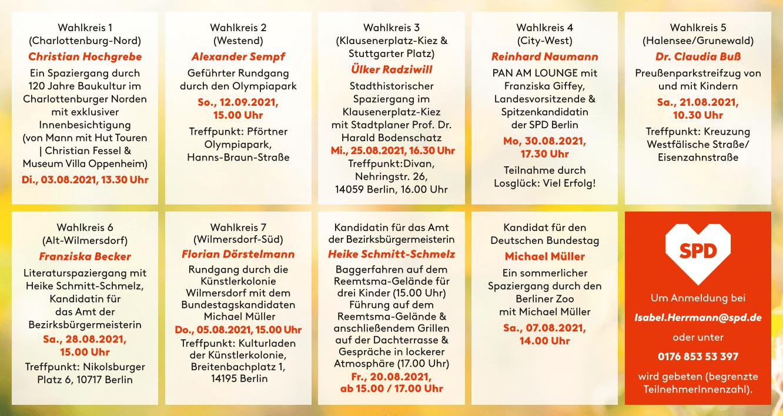 Sommer mit der SPD Charlottenburg-Wilmersdorf 2